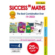 P4 Success In Math Pack 2019